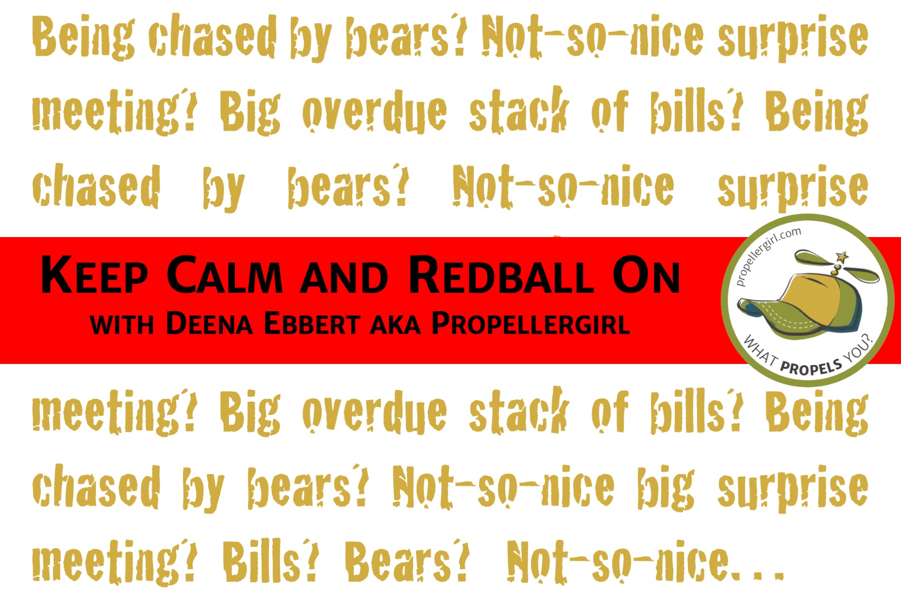 Keep Calm and Redball On